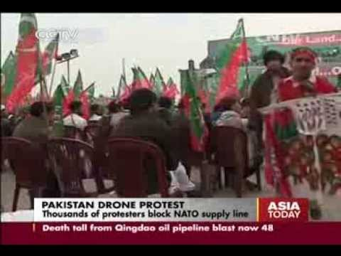 Pakistan drone protests as strikes killed 6 at religious school in Hangu, Pakhtunkhwa