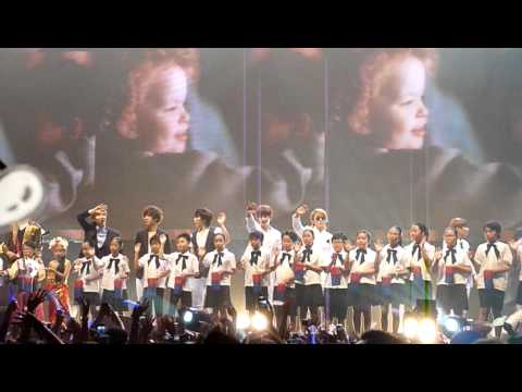 FANCAM 110604 Super Junior - Heal The world @ Kimchi 2011