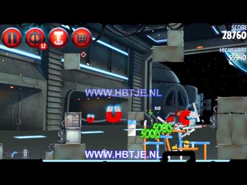 Angry Birds Star Wars 2 Naboo Invasion p1-11 3 stars
