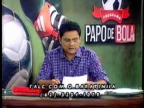Programa Papo de Bola exibido dia 11 de abril de 2013