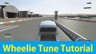 Forza 5 : How To Make A Wheelie Tune (Launch Wheelie Tune