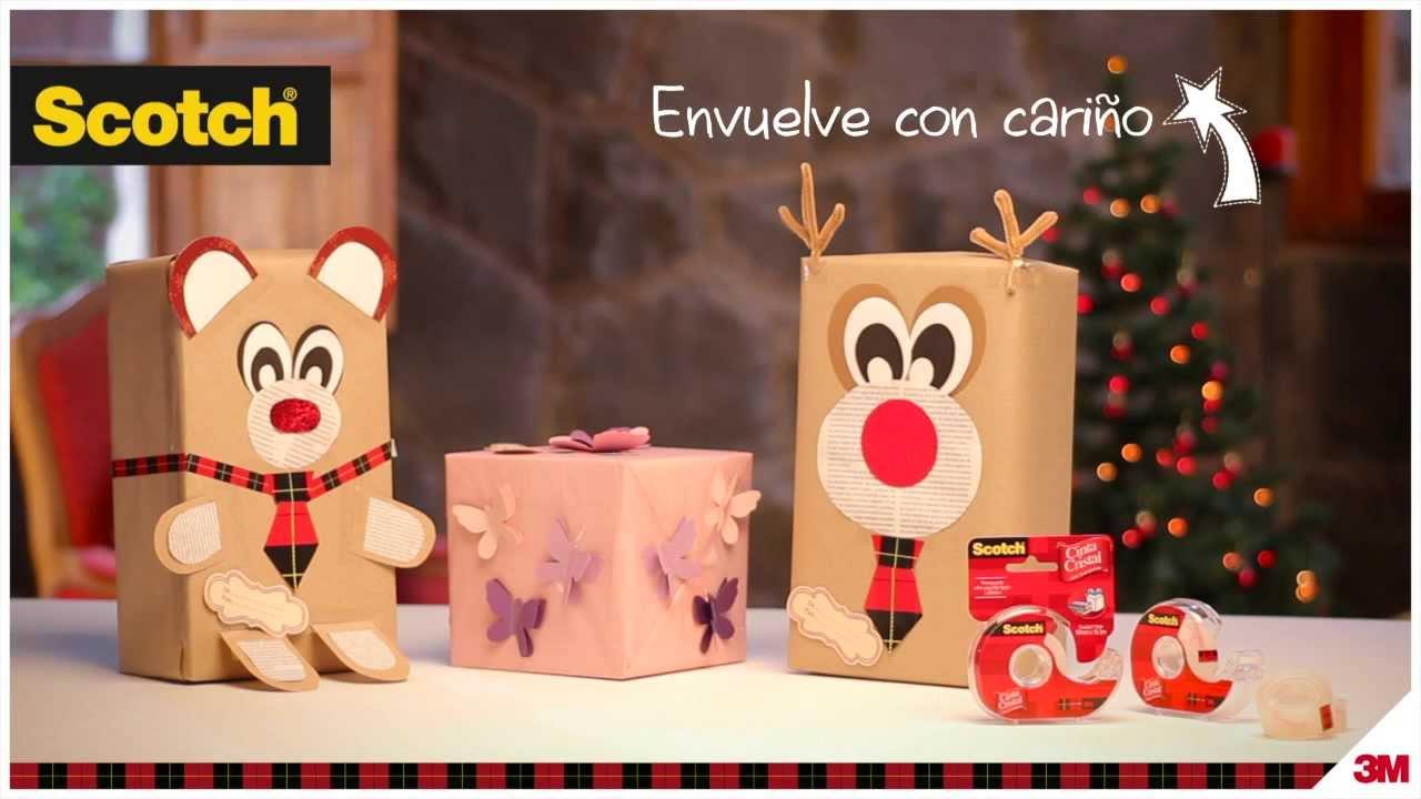 Envolver regalos en forma de osito envuelve con cari o - Envoltorios originales para regalos ...