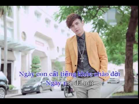 Karaoke Nơi ấy con tìm về Remix - Hồ Quang Hiếu Beat 2015