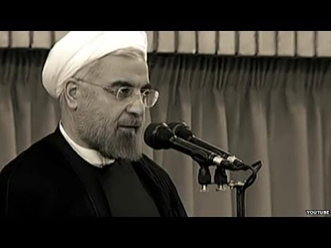 Iran's President Hassan Rouhani in music video