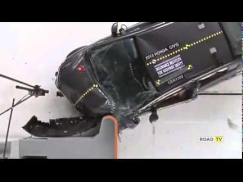 Краш-тест Honda Civic