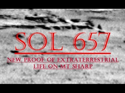New Proof Of Extraterrestrial Life On Mt Sharp SOL 657 -TruthSeeker's Mars Anomaly Research SOL -