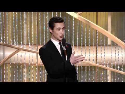 Joseph Gordon-Levitt at the Golden Globes 2011