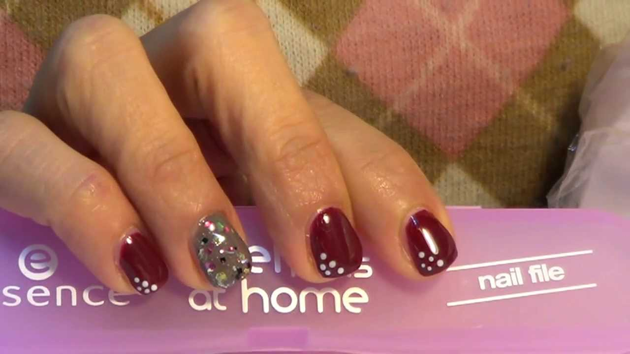 Gel Nails at Home Essence Review & tutorial for Short nails version Ft