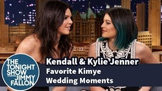 Kendall & Kylie Jenner Share Their Favorite Kimye Wedding