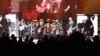 "ZZ Top with Jeff Beck ""La Grange"" ""Tush"" 8-14-2014"