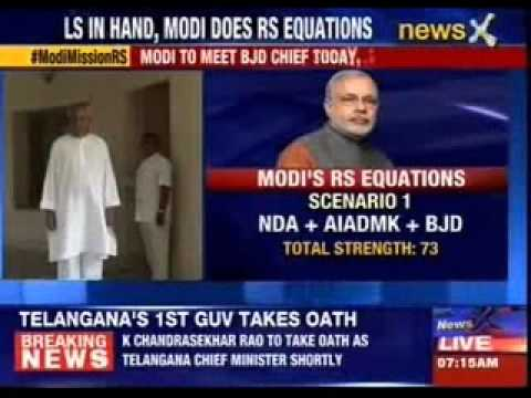 Narendra Modi to meet BJD Chief Naveen Patnaik today