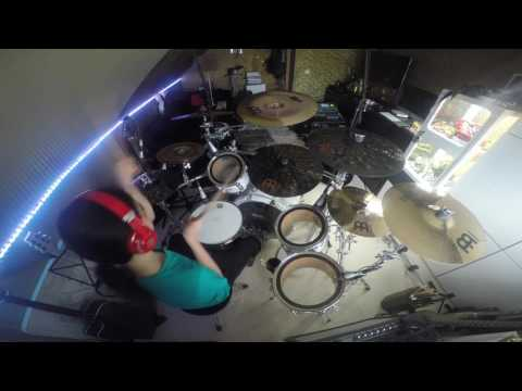 Paramore - Ain't it fun - Drumcover (Behind-the-Drums-Cam)