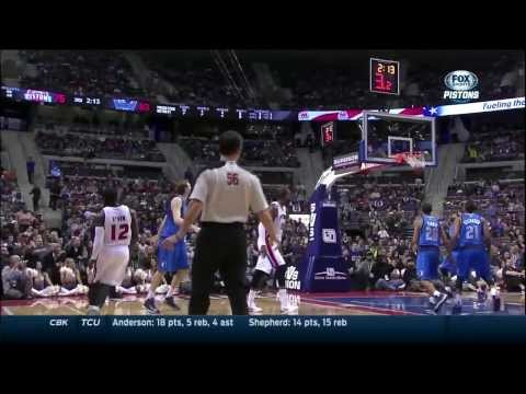 Will Bynum puts Devin Harris on skates