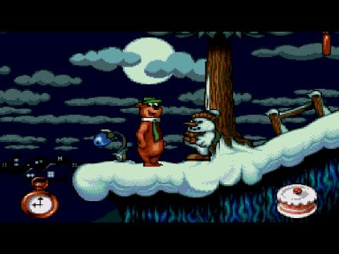 [Full GamePlay] Yogi Bear: Cartoon Capers [Sega Megadrive/Genesis]