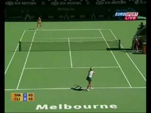 Sharapova Technique - forehand, backhand and serve