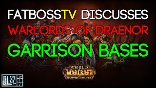 World Of Warcraft: Warlords Of Draenor Garrison Bases