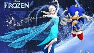 Frozen Let It Go ~ A Sonic Music Video HD