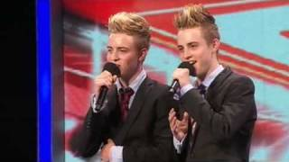 The X Factor 2009 John & Edward- Auditions 1 (itv.com