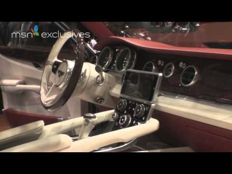 Bentley SUV 4x4 EXP 9 F at Geneva Motor Show