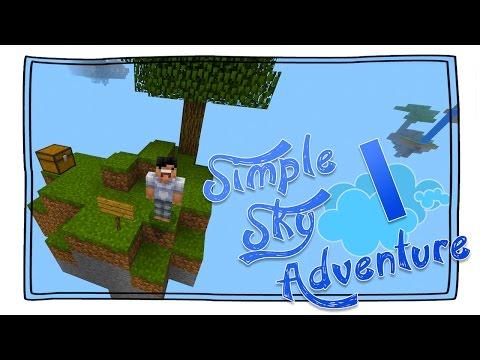 【Minecraft】手機版 空島旅行團 + 規則由你定 #1 - 簡單空島冒險有幾簡單? [Simple Sky Adventure]