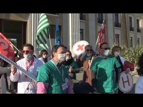 SANITA' Flash Mob CISL Bari
