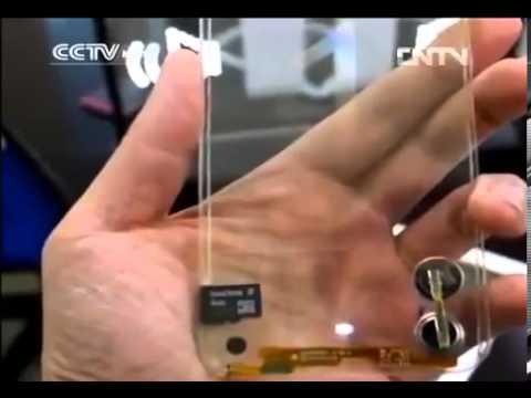Samsung Galaxy Note 4 transparent concept