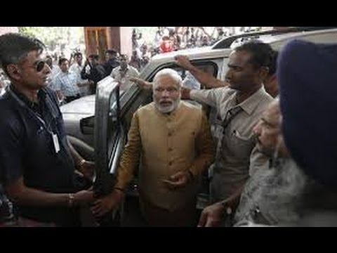 [VIDEO] Narendra Modi Attends His First Parliament Session, Modi Likely to Fly to US
