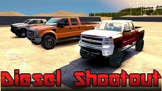 Spin Tires Chevy Vs Ford Vs Dodge Ultimate Diesel