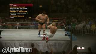 WWE 2K14 How To Bodyslam Big John Studd