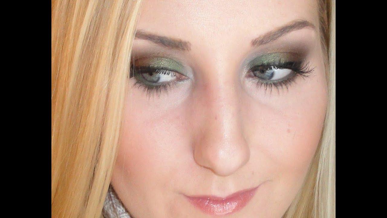 Fall Smokey Eye Makeup Tutorial: Changing Leaves - YouTube