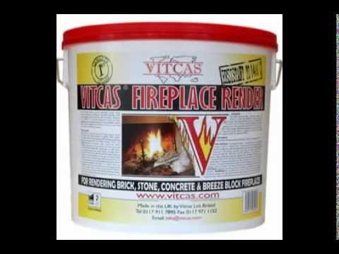 Vitcas - render and heat resistant plaster work instructions