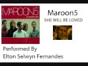 Maroon 5 - She Will Be Loved (Guitar Instrumental)