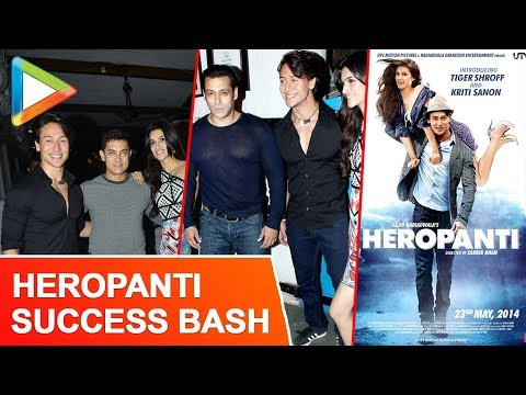 Aamir Khan Salman Khan At Heropanti Success Bash