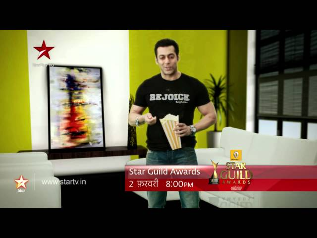 Salman has a special message for the STAR Guild Awards