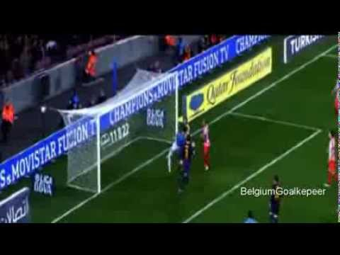 Thibaut Courtois - Young Talent(Belgium) [HD]