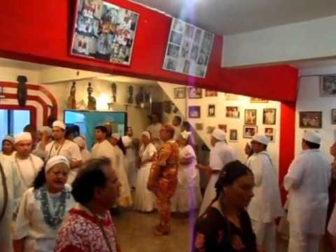 Aniversario de Xango, Baba Marcos * Alagbe Hernan de Oxala (Oia)