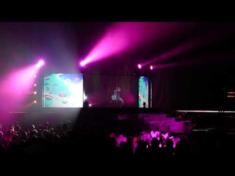 Hatsune Miku Full Opening For Lady Gaga May 20, 2014 St. Paul MN