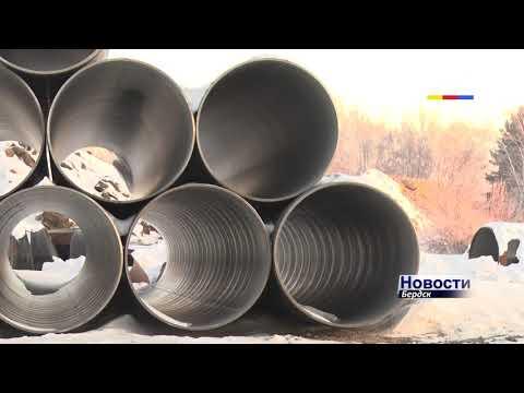 Модернизация водозабора – в Бердске намораживают лед на водохранилище для погружения оголовка на дно