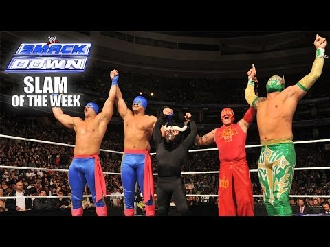 The Five Luchadors - SmackDown Slam of the Week 1/10