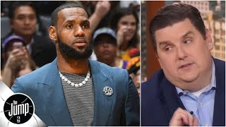 Is LeBron James' injury worse than we thought? | The Jump
