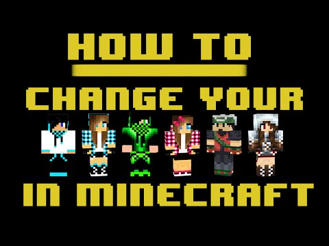 How To Change Your Minecraft Skin!!! Mac - YouTube
