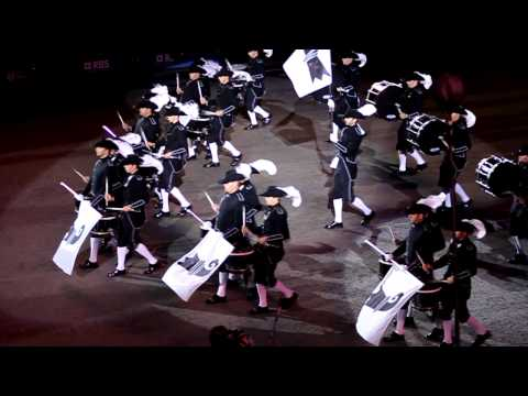 Edinburgh Tattoo 2012 - Top Secret Drum Corps