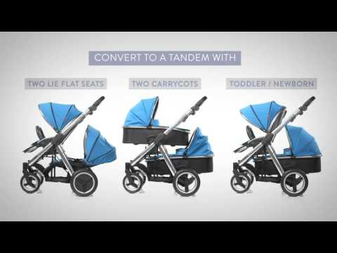 Babystyle Oyster Max 2 Tandem Stroller