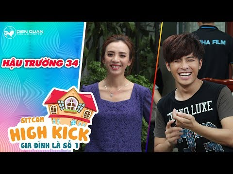 Gia đình là số 1 sitcom | hậu trường 34: Thu Trang, Gin Tuấn Kiệt