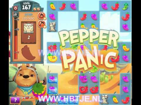 Pepper Panic Saga level 167
