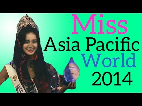 Miss Myanmar is WINNER of Miss Asia Pacific World 2014