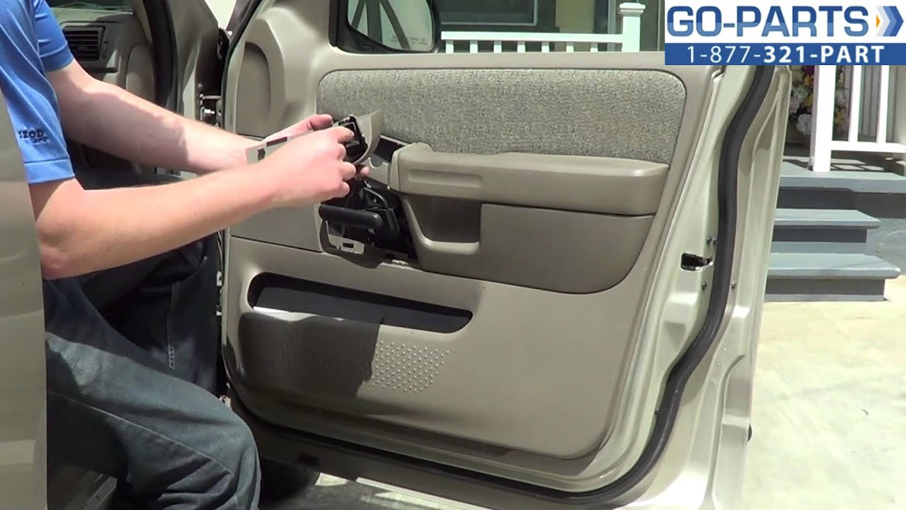 How to remove rear door panel on 2002 ford ranger for 2002 ford explorer driver side window switch