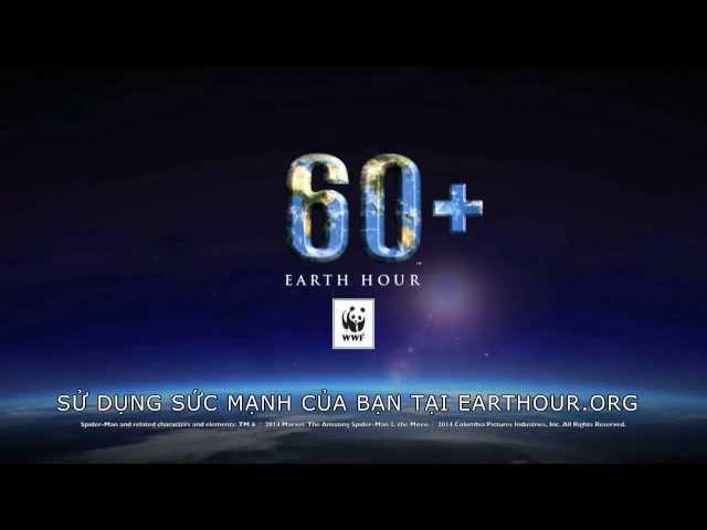 Giờ Trái Đất - Đoàn làm phim Người nhện Siêu Đẳng