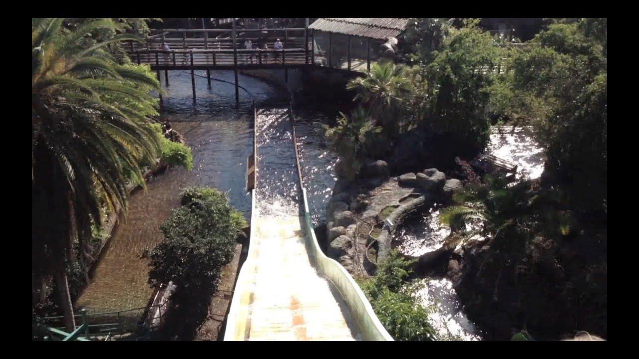 Water Slide Ride At Busch Gardens Youtube