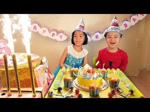 #Bóc trứng socola #Trò chơi bóc trứng bất ngờ #Chocolate surprise eggs #Birthday Party